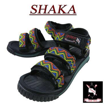 【7サイズ】 na801 新品 SHAKA South Africa 復刻 NEO BUNGY TRIANGLE ネオバンジー エスニック 民族柄 サンダル 433104 メンズ & レディース シャカ アウトドア スポーツサンダル