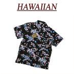 【7サイズ】 wu4432 新品 舞桜 花柄 半袖 和柄 レーヨン100% アロハシャツ メンズ アロハ ハワイアンシャツ 【smtb-kd】 (ビッグサイズあります!)