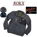 【20%off 2色4サイズ】 ry052 新品 ROKX ロックス BERBER JACKET コーデュロイ切替 パイルボア フリースジャケット RXMF194073 メンズ POLARTEC THERMAL PLO ポーラテックフリース サーマルプロ バーバージャケット アメカジ アウトドア