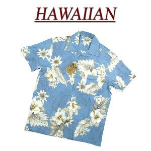 【7サイズ】 wu482 新品 ハイビスカス 花柄 半袖 レーヨン100% アロハシャツ メンズ アロハ ハワイアンシャツ 【smtb-kd】 (ビッグサイズあります!)