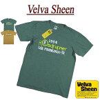 【2021夏 2色4サイズ】 je642 新品 Velva Sheen USA製 1984 ROADRUNNER TEE 半袖 スラブ Tシャツ 1621100 メンズ ベルバシーン ティーシャツ イエローレーベル Made in USA 【smtb-kd】