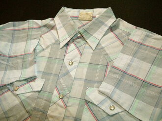 kss020 M Lee ri短袖檢查西部襯衫舊衣服10P03Sep16