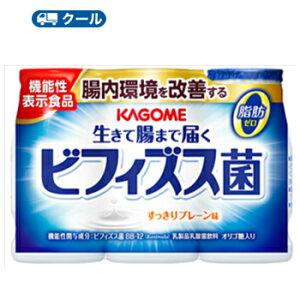 カゴメ 生きて腸まで届くビフィズス菌 (100ml×3P×6)×1ケース【クール便】 〔大人のための乳酸菌〕脂肪0 乳酸菌飲料