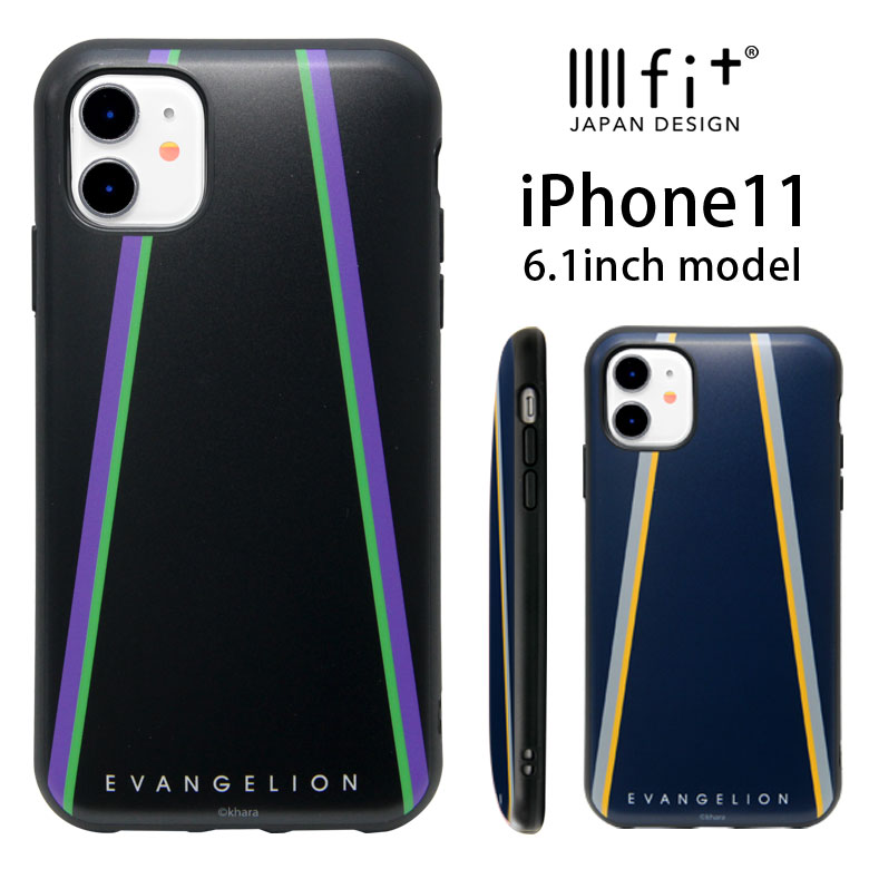 スマートフォン・携帯電話アクセサリー, ケース・カバー IIIIfit iPhone 11 iPhone11 EVANGELION iPhoneXR