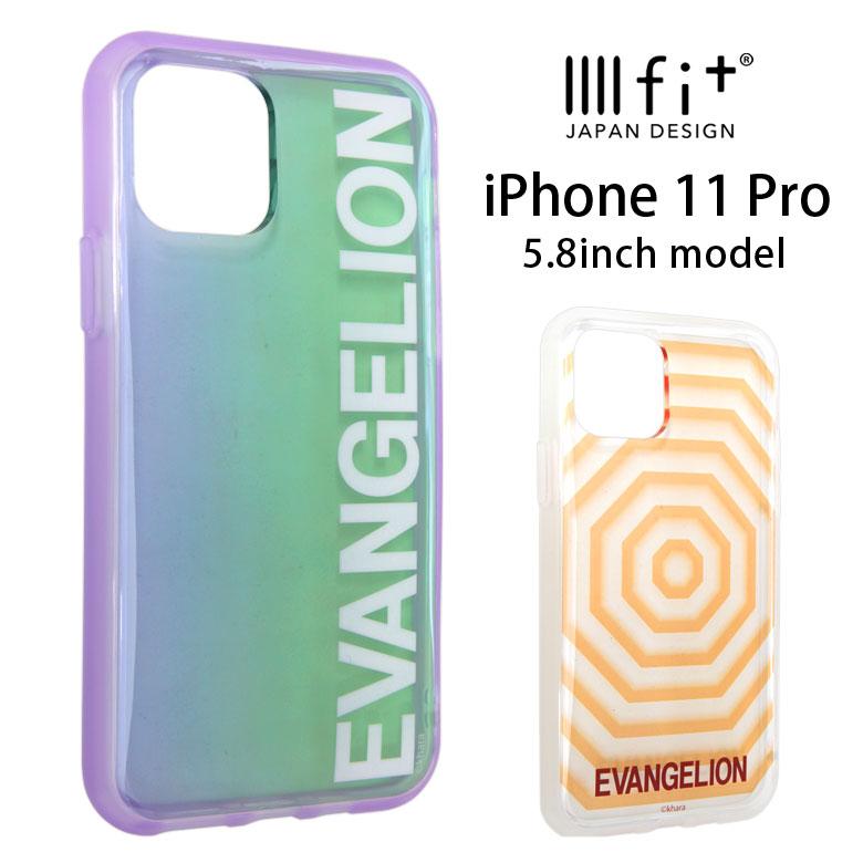 スマートフォン・携帯電話アクセサリー, ケース・カバー IIIIfit clear iPhone 11 Pro iPhone11Pro EVANGELION 11Pro