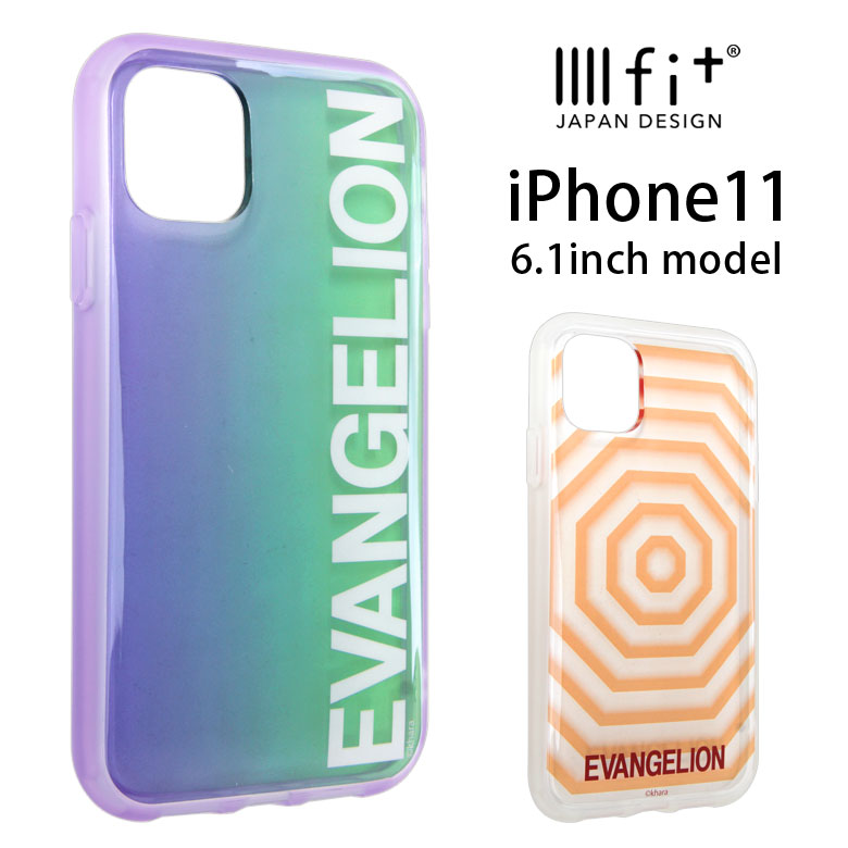 スマートフォン・携帯電話アクセサリー, ケース・カバー IIIIfit clear iPhone 11 iPhone11 EVANGELION iPhoneXR