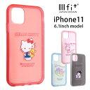 iphone11 ケース イーフィット IIIIfit clear サンリオ アイフォン11 スマホケース アップ カ……