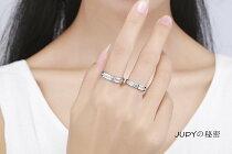 【送料無料】愛の言葉ペアリングシルバー925純銀指輪2個セットキラキラ結婚指輪婚約指輪メンズリングレディースリングフリーサイズ(男、女)