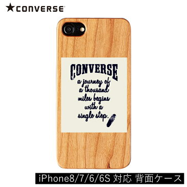 【iPhone8/7/6/6S対応 背面ケース】CONVERSE(コンバース)/BOXLOGO WH iPhone スマートフォンケース スマホケース iPhone8 iPhone7 iPhone6