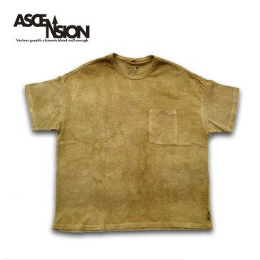 GOHEMP WIDE TEE ASCENSION(アセンション)曼荼羅 タイダイ TEEシャツ メンズ(mens)・Tシャツ(T-shirt) アウトドア(outdoor)・野外フェス・タイダイ・TIE-DYE as-753