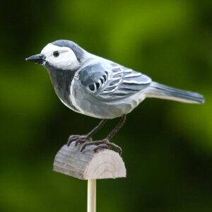 かわいい!小さな小鳥たちを実寸大で再現☆丁寧に手彫りされた温かみのある木工品。スウェーデ...