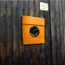【郵便ポスト】【壁掛け】「ラーディウスデザイン (RADIUS) レターマン2 カラー 新聞受け付き」の写真