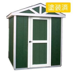 【木製物置】たっぷり収納のデザイン物置は北欧のお家のような可愛いデザイン!物置小屋やバイ...
