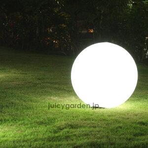 間接照明に。イリスガーデンライト「ボール50」