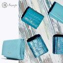 BajoLugo バジョルゴ コンパクトウォレット シボ エメラルド 三つ折りウォレット 財布 布 レザー 日本製