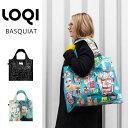 LOQI ローキー basquiat バスキア エコバッグ 折りたたみ コンパクト