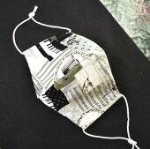 JuJuオリジナル【立体マスク立体mask(バンダナ柄)】ウイルス対策に