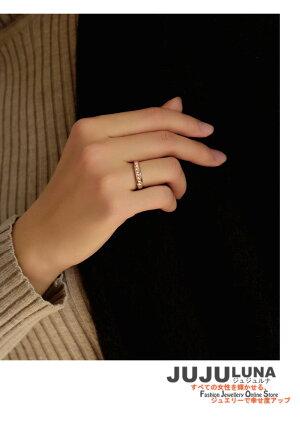 リング指輪レディースプレゼント人気キラキラシンプルおしゃれ知的記念日自分へのご褒美結婚式パーティーカジュアル大人可愛い女性ジュエリーアクセサリージュジュルナjujuluna