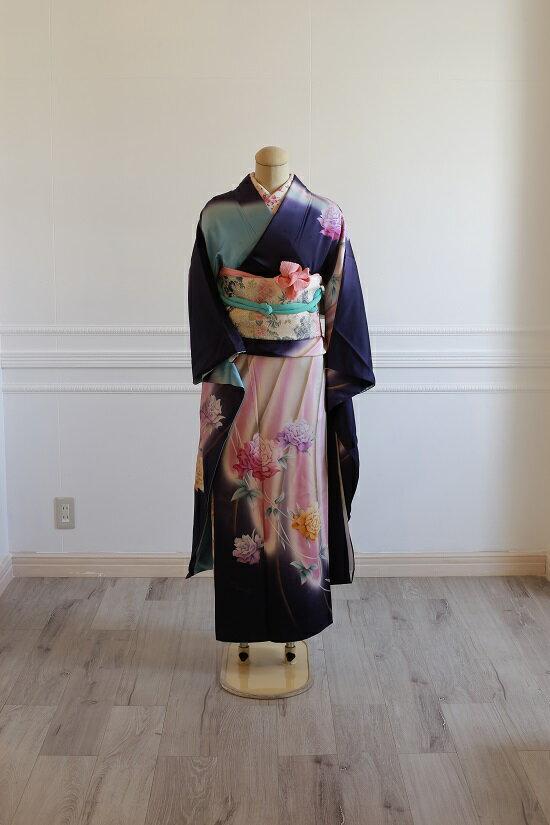 【レンタル】振袖 フルセットレンタル 05 【送料無料】 成人式 卒業式 結婚式 入学式 レンタル 貸衣装 着物