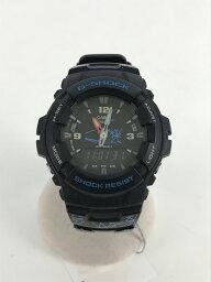 【中古】CASIO◆クォーツ腕時計/デジアナ/ラバー/WHT/BLK/G-100/Marlboro【服飾雑貨他】