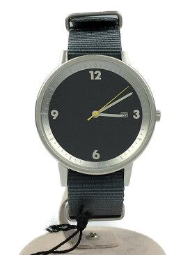 【中古】innovator/クォーツ腕時計/アナログ/ナイロン/NVY/GRY【服飾雑貨他】