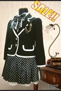【メール便不可】【3色】 LiLi Lundi 62000 女の子 入学スーツ 3カラー [リ…