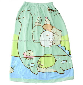 【追跡可能メール便1点まで可】 ラップタオル Lサイズ 80cm すみっコぐらし 2020年版 すみっこ スミッコ 巻きタオル バスタオル プール プール用品 スイミング プールグッズ キッズ 子供 女の子 女児 184404