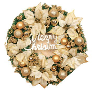 二点送料無料/クリスマスリース30cm40cm50cm60cm クリスマス飾り 【おしゃれ】【玄関ドア】【プレゼント】【ナチュラル】【壁掛け】【飾り】 シルバー ゴールド レッド 3色