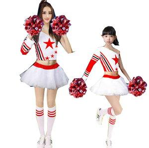 9ffd5038231a6 二点送料無料 チアリーディング チアダンス応援団演出服舞台 上下. ¥3