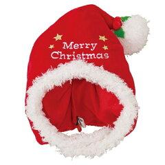 【ポンポリース】サンタさん帽子 SサイズChristmas パーティ コスプレ メール便対応商品[犬服通販*じゃんぐるぺっと]