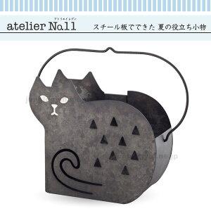 デコレ(decole)atelier No.11/猫型蚊遣り人気の鉄製蚊やり箱に新作が入荷/ねこのモチーフが可愛...