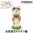デコレコンコンブル旅ねこ日本横断桜めぐり旅お花見カメラマン猫