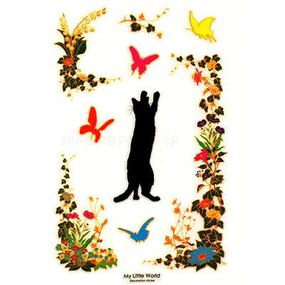 マイ リトル ワールド デコレーションステッカー:CATが【メール便OK!】マイ リトル ワー...