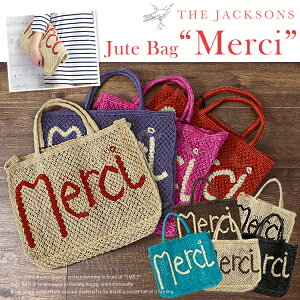 【ss】THE JACKSONS ジャクソンズ バッグ 【即日発送・予約商品】ハッピーな気分になれる MERCI...