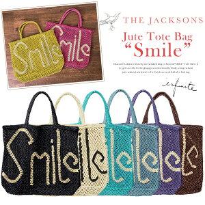 【ss】THE JACKSONS ジャクソンズ バッグ 【即日発送・予約商品】ハッピーな気分になれる SMILE...