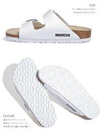 ビルケンシュトックBIRKENSTOCKアリゾナレディースビルケンコンフォートサンダル幅狭細ARIZONA正規品ビルコフロー2016|ビルケンカジュアルサンダルコンフォートオフィスかわいいぺたんこ歩きやすい白ホワイト外履きシューズ春