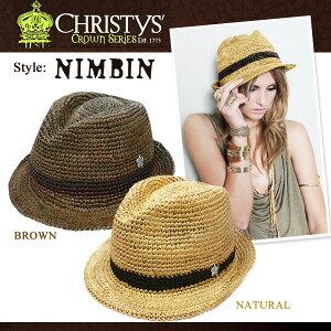 【ss】CHRISTYS' HAT クリスティーズ ハット 人気モデル着用で話題の nimbin ♪【jg】CHRISTYS'...