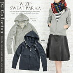 JGCollection΢���ӥ��֥른�åץ������åȥѡ�����WzipSweatParka