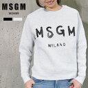 MSGM レディース トレーナー スウェット ロゴ エム エス ジー エム MSGM MILANO ...