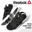 リーボック ポンプフューリー サンダル ブラックReebok Insta Pump Fury Sandal即日発送 【送料無料】【あす楽】