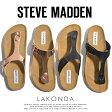 スティーブ マデン steve maddenトングサンダル コンフォートサンダル レザーベルト LAKONDA|カジュアル カジュアルサンダル かわいい 可愛い おしゃれ レディースさんだる レディース メンズ 22.5cm〜27.0cm 大きい 小さい サイズ