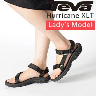 【TEVA】 TEVA ハリケーン teva レディース サンダル テヴァ テバ Women 4176 Hurricane XLT スポーツサンダル 靴 ブラッ...
