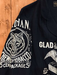 【BY GLAD HAND】バイ グラッド ハンド FOR SMOKING - LINEN JACKET (NAVY) リネン ジャケット