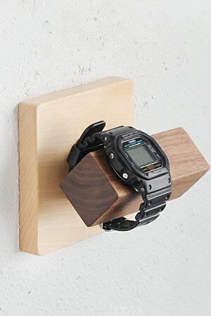 腕時計収納壁掛け木製おしゃれ石膏ボード用アンティーク調アンティーク風 MUKUタイル腕時計ホルダー