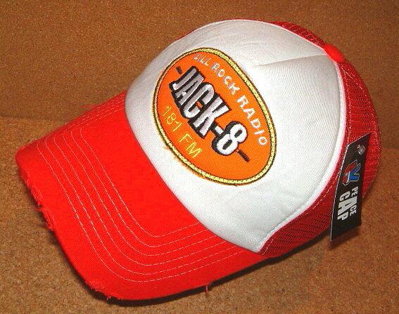 メンズ帽子, キャップ CHIPPS COMPANY PEACE CAP REDWHITE USED