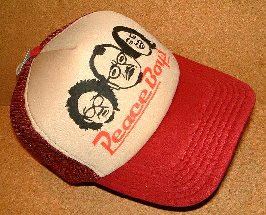 メンズ帽子, キャップ CHIPPS COMPANY PEACE CAP BEIGEWINE RED