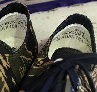 """No.BR02550BUZZRICKSON'S""""SHOE,BASKETBALL""""GOLDTIGERCAMOUFLAGE"""