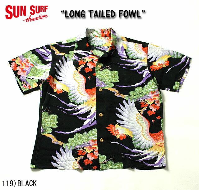 トップス, カジュアルシャツ No.SS37254 SUN SURF SPECIAL EDITIONLONG TAILED FOWL