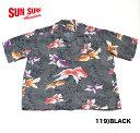 """No.SS37466 SUN SURF サンサーフS/S RAYON HAWAIIAN SHIRT""""GOLD FISH"""""""