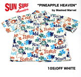 "No.SS37657SUNSURFbyMaskedMarvelS/SOPENSHIRT""PINEAPPLEHEAVEN"""